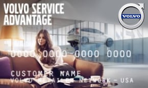 Volvo Service Advantage Card