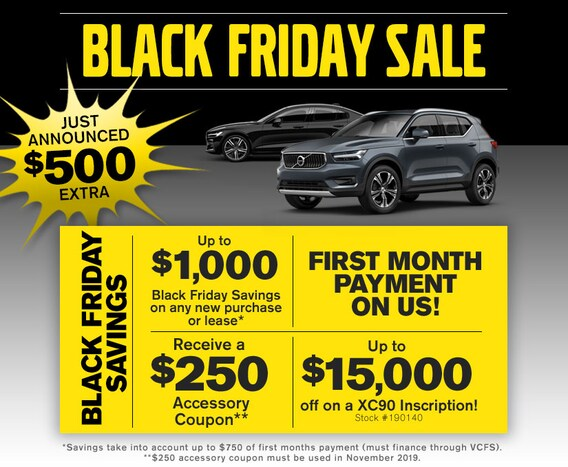 Scottsdale Sales Tax >> Black Friday Volvo Sale Near Phoenix Courtesy Volvo Cars