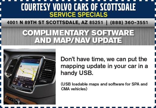 Volvo Service Specials Near Phoenix   Courtesy Volvo Cars of