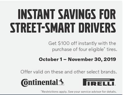 FALL TIRE OFFER
