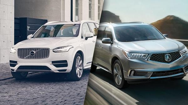 Comparison: 2018 Volvo XC90 vs 2018 Acura MDX