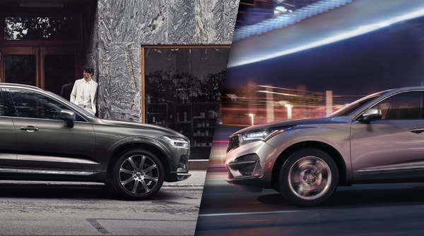 Comparison 2019 Volvo Xc60 Vs 2019 Acura Rdx Premier