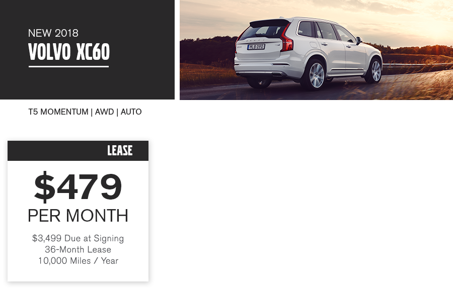 XC60 Special Offer
