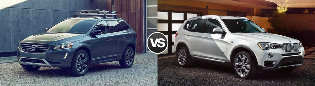 2017 Volvo XC60 vs 2017 BMW X3