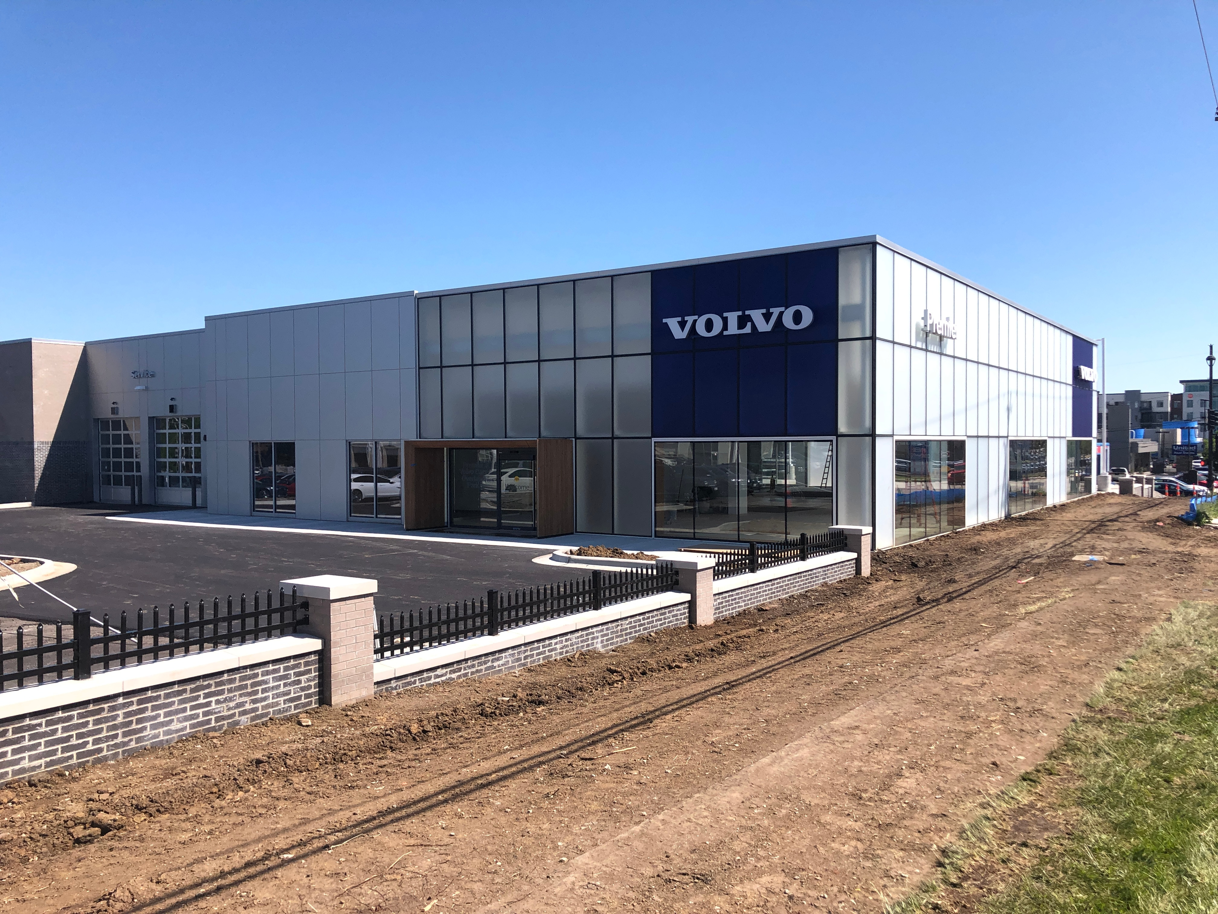 Premier Volvo Cars of Overland Park's New Exterior