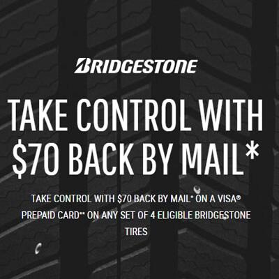 Bridgestone Tire Offer