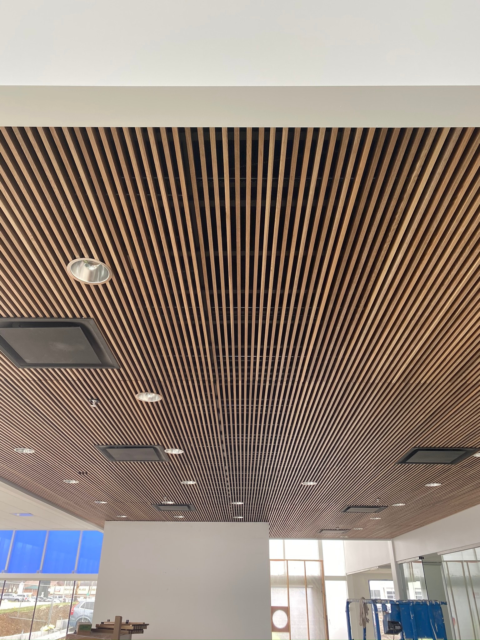 Premier Volvo Cars of Overland Park Showroom Ceiling