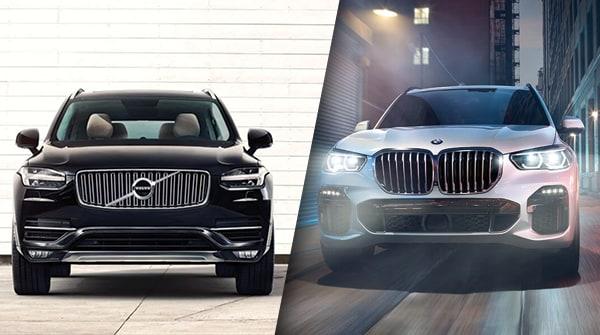 Comparison: 2019 Volvo XC90 vs 2019 BMW X5
