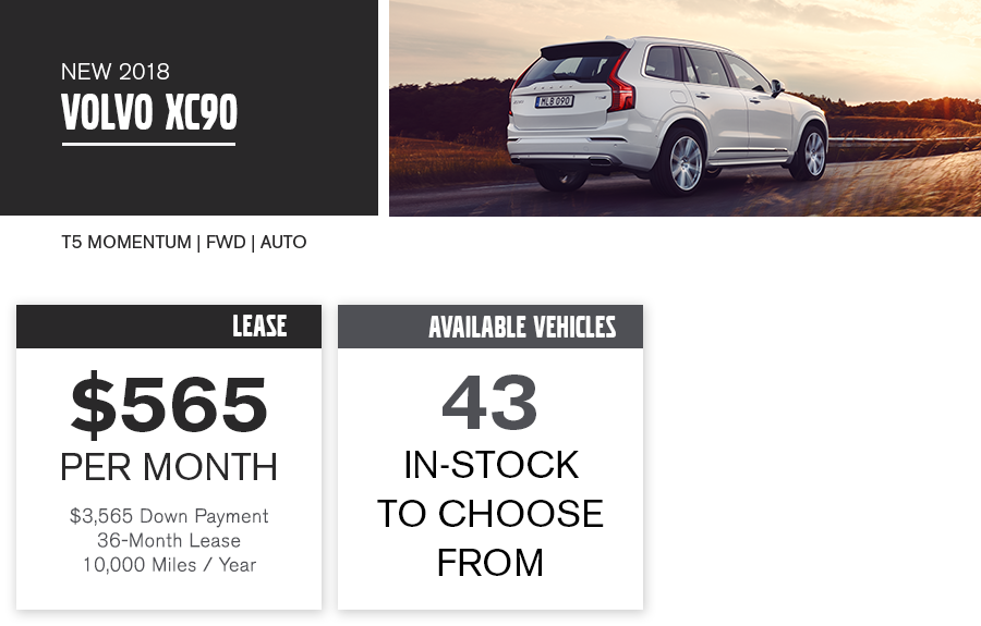 XC90 Special Offer