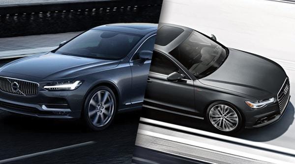 Comparison: 2018 Volvo S90 vs 2018 Audi A6