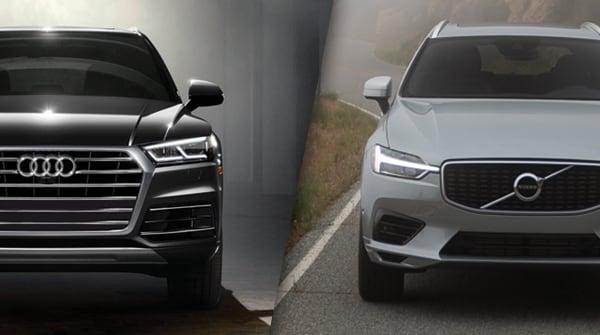 Comparison 2018 Volvo Xc60 T6 Momentum Vs Audi Q5