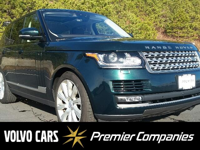 Featured Pre-Owned 2017 Land Rover Range Rover 5.0L V8 Supercharged SUV for sale in Plymouth, MA