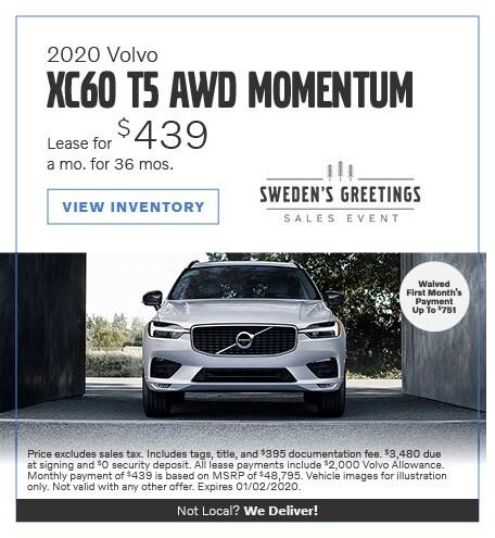 2020 Volvo XC60 AWD Momentum