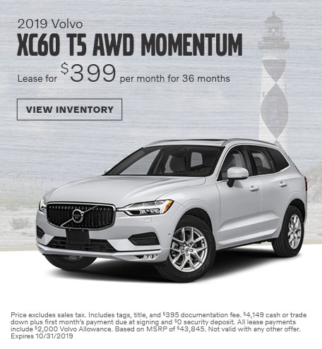 2019 Volvo XC60 T5 AWD Momentum - October