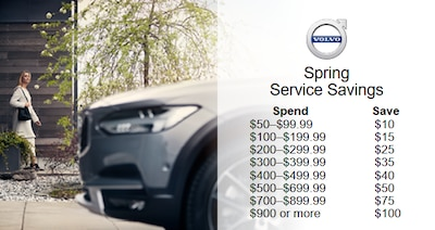 Spring Service Savings