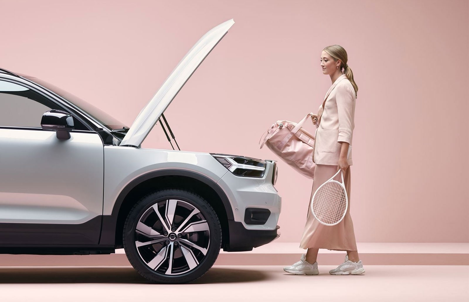 Volvo XC40 Recharge-The First All-Electric SUV from Volvo