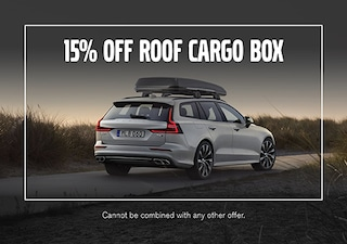 15% Off Roof Cargo Box