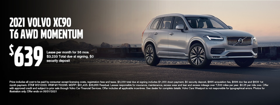 XC90 May Lease