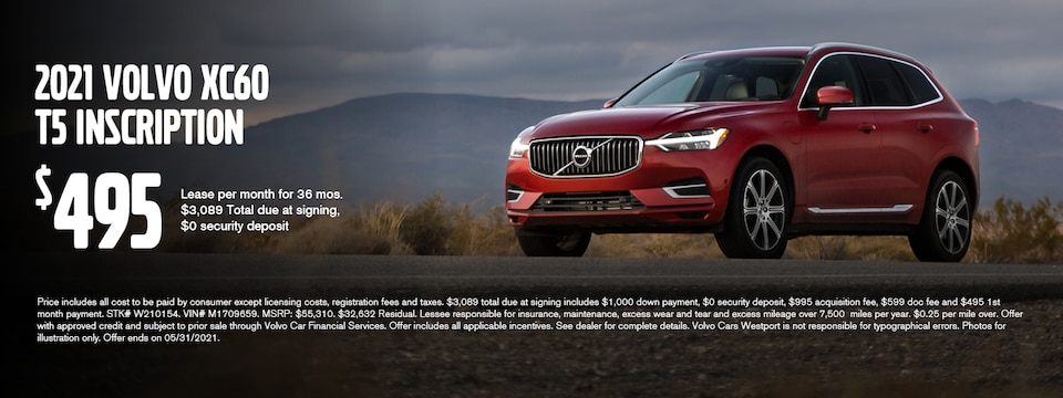 XC60 May Lease