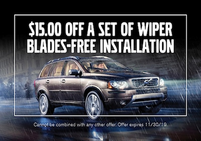 $15.00 OFF Set of Wiper Blades - FREE Installation