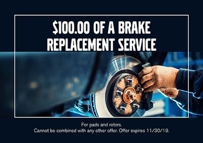 Brake Replacement Service