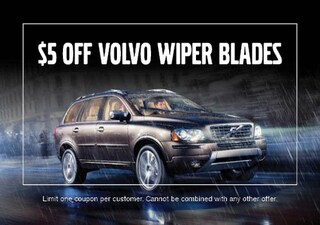 $5 OFF Volvo Wiper Blades
