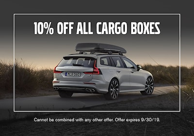 10% off all Cargo Boxes