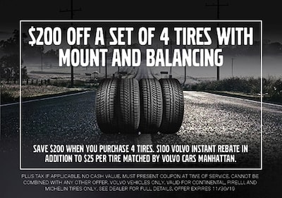 Tires with Mount and Balancing