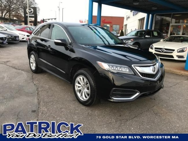 Used 2016 Acura RDX AWD 4dr Sport Utility Worcester