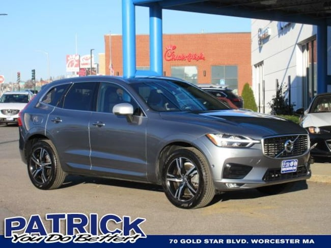 Used 2018 Volvo XC60 T6 AWD R-Design Sport Utility Worcester
