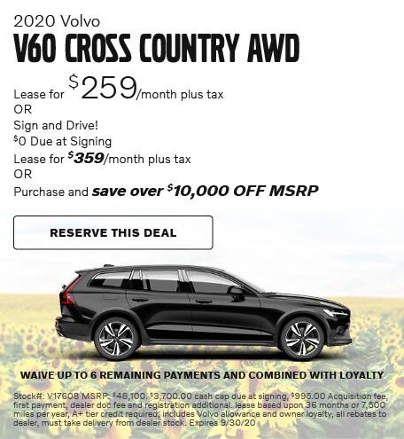2020 Volvo V60 Cross Country AWD