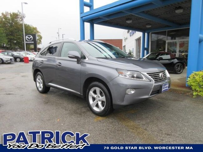 Used 2014 LEXUS RX 350 AWD 4dr Sport Utility Worcester