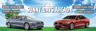 2020 Volvo S60 and S90 Specials