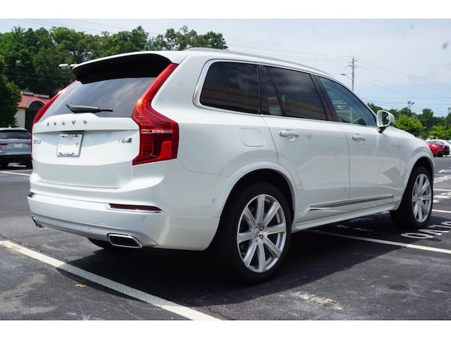 New 2019 Volvo XC90 SUV T6 Inscription Crystal White Pearl For Sale/Lease in Athens GA. VIN ...