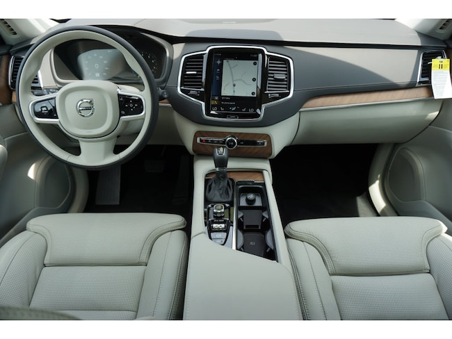 New 2019 Volvo Xc90 Suv T6 Inscription Crystal White Pearl For Sale