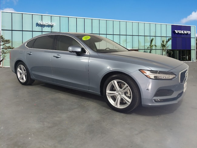 Certified Pre-Owned 2018 Volvo S90 T5 FWD Momentum T5 FWD Momentum LVY982AK0JP024425 For Sale in Bonita Springs, FL
