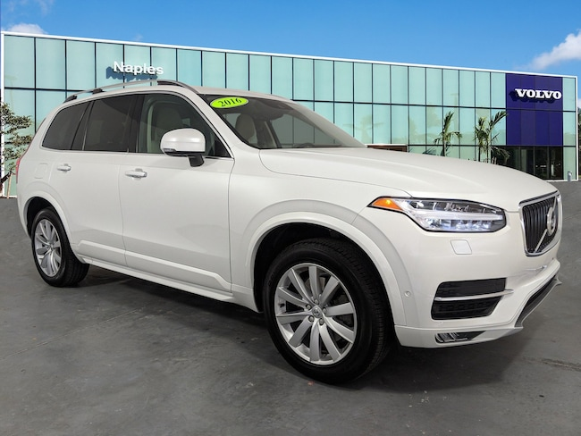 Certified Pre-Owned 2016 Volvo XC90 AWD  T6 Momentum YV4A22PK9G1020766 For Sale in Bonita Springs, FL