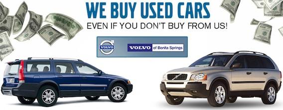 Volvo Of Bonita Springs >> We Buy Used Cars At Volvo Of Bonita Springs