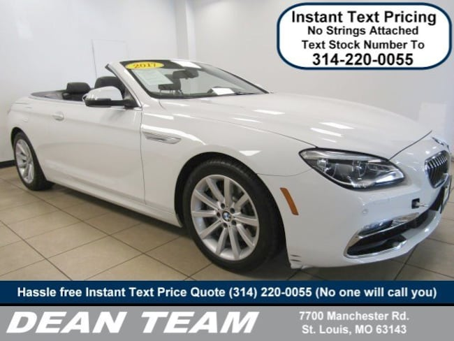 Use3d 2017 BMW 6 Series 640i Convertible In St Louis MO