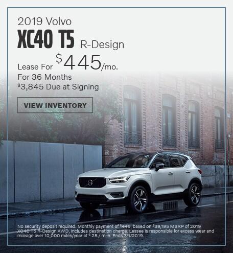 2019 Volvo XC40 T5 R-Design - June