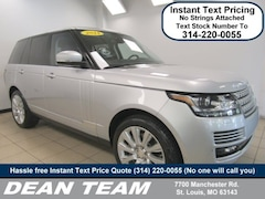2014 Land Rover Range Rover Supercharged 4WD  Supercharged