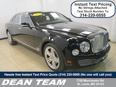2012 Bentley Mulsanne 4dr Sdn Sedan