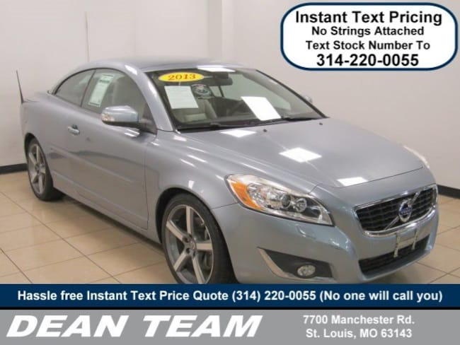 use3d 2013 Volvo C70 T5 Convertible in st. louis MO
