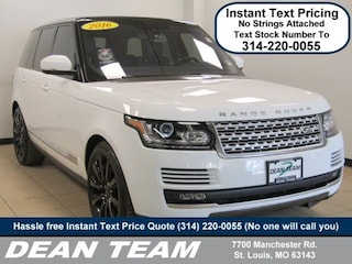 2016 Land Rover Range Rover Supercharged 4WD  Supercharged
