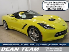 2018 Chevrolet Corvette 3LT Convertible
