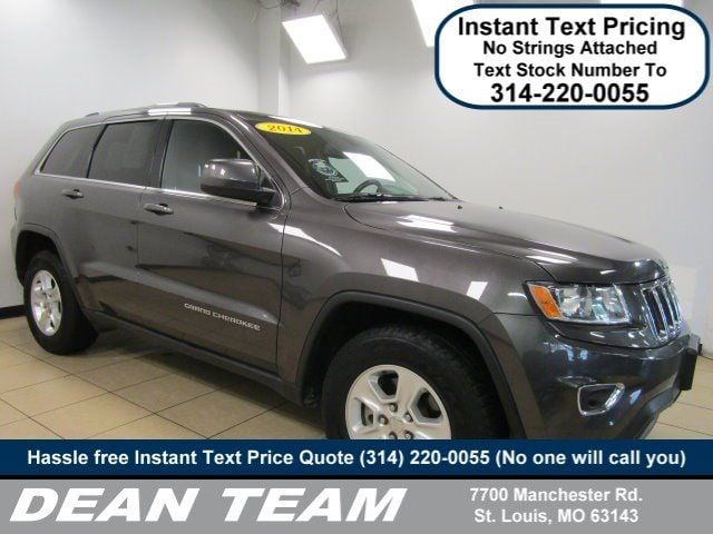 Use3d 2014 Jeep Grand Cherokee Laredo RWD Laredo In St. Louis MO