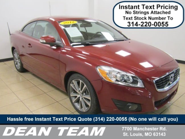 use3d 2012 Volvo C70 T5 Premier Plus Convertible in st. louis MO