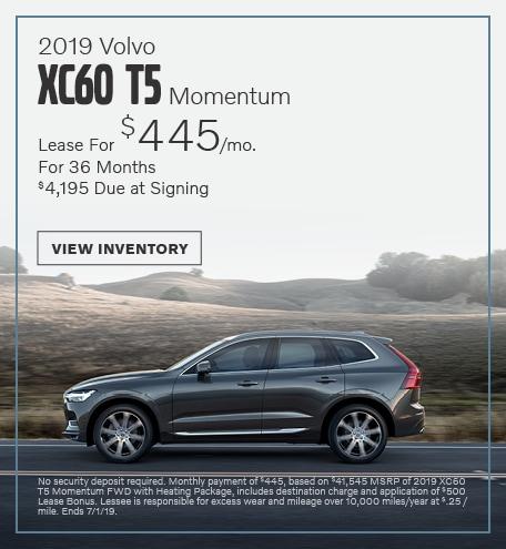 2019 Volvo XC60 TS Momentum - June
