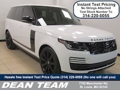 2019 Land Rover Range Rover V8 Supercharged SWB V8 Supercharged SWB