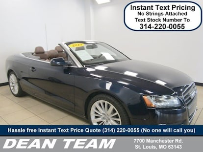 Used 2010 Audi A5 For Sale in St  Louis MO | Near Manchester, Clayton,  Kirkwood & Webster Groves, MO | VIN: WAUJFAFH8AN019676